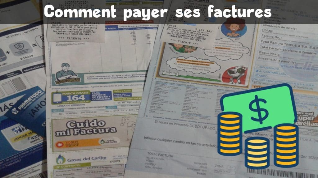 Payer ses factures en Colombie