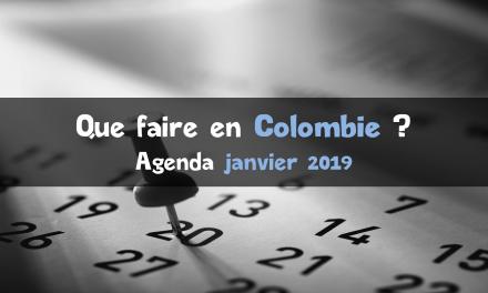 Que faire en janvier 2019 en Colombie ?