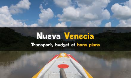 Nueva Venecia : village sur l'eau en Colombie